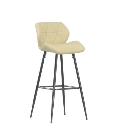 Интерьерный барный стул на четырех ножках Diamond Steel (стул стилиста/бровиста)