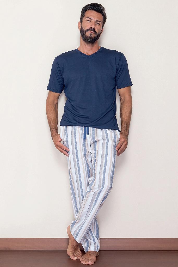 Домашний костюм с брюками в полоску B&B