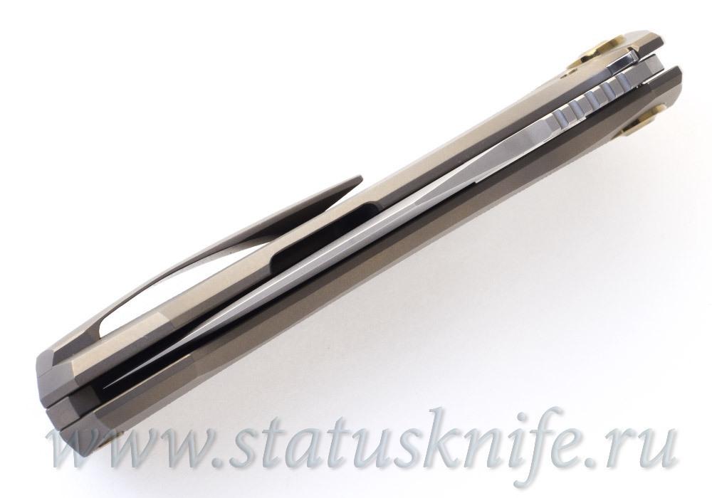 Нож Чебуркова Медведь Limited M398 #22 - фотография