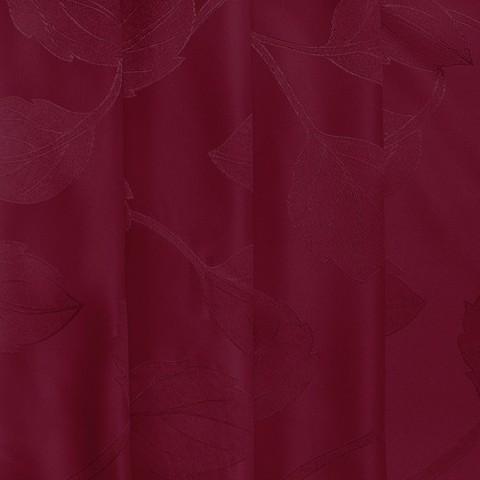Портьерная ткань 150 см Дебют GLL984-11 цвет вишня листья