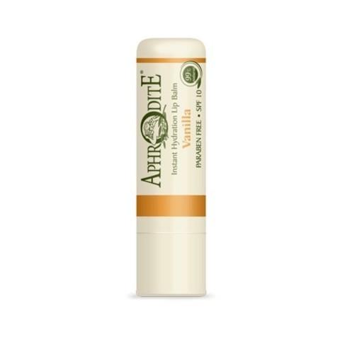 Защитный бальзам для губ с ароматом ванили