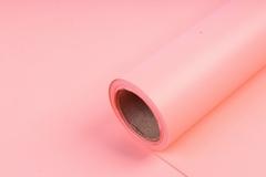 Матовая бумага Персик / рулон 0,5*10м, 50мкр