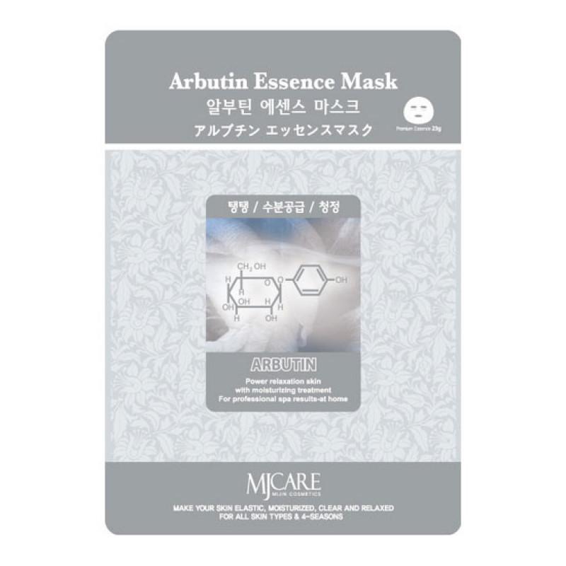 Тканевая маска для лица арбутин MIJIN Essense Mask
