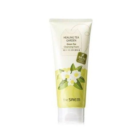 Увлажняющая Пенка для умывания с экстрактом зеленого чая Healing Tea Garden Green Tea Cleansing Foam THE SAEM