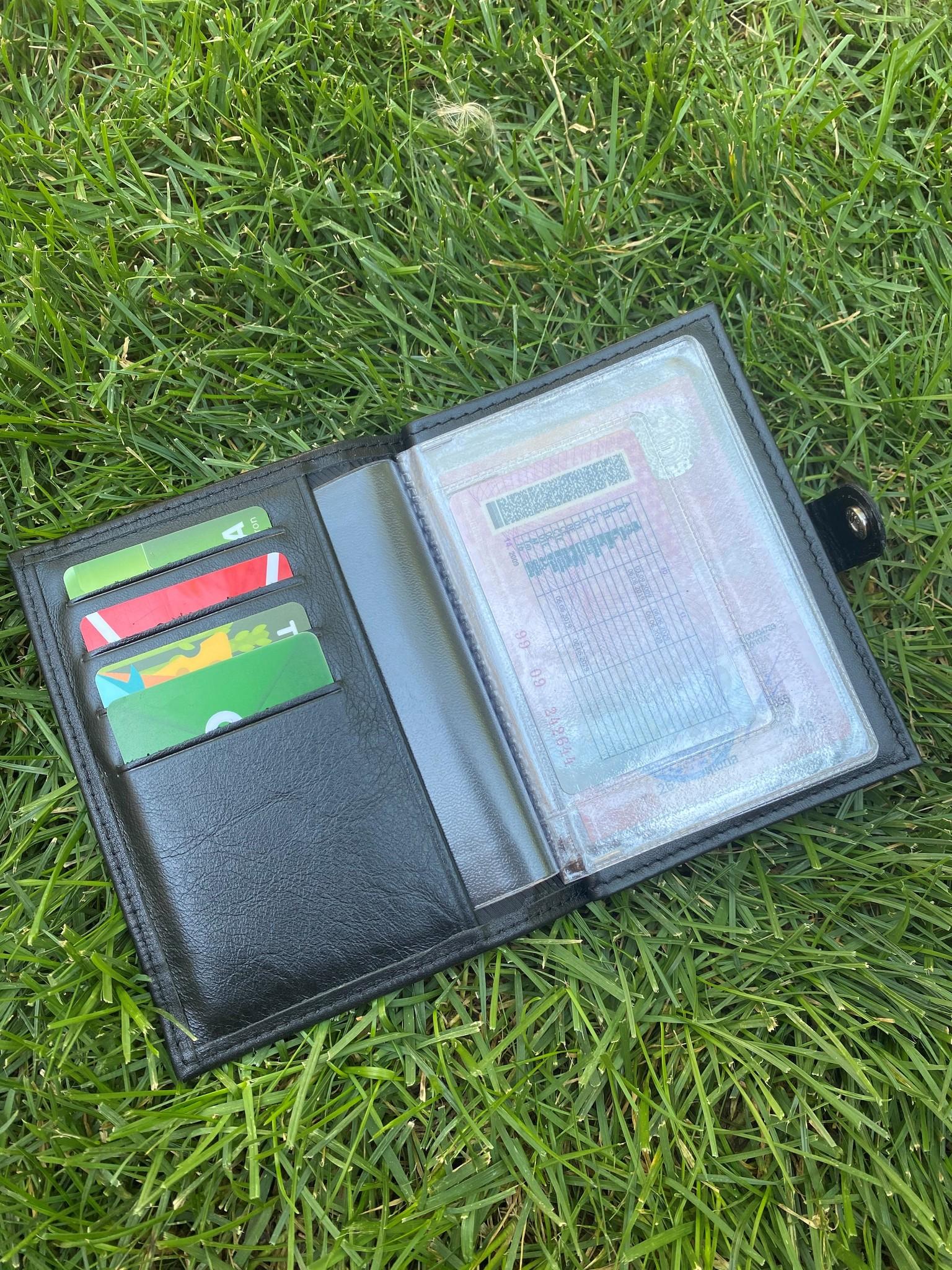 Портмоне для автодокументов и паспорта Lexus