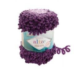 Пряжа Alize Puffy Fine Ombre Batik цвет 7277