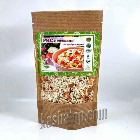 Рис с овощами НТВ 'Organic food' 70г