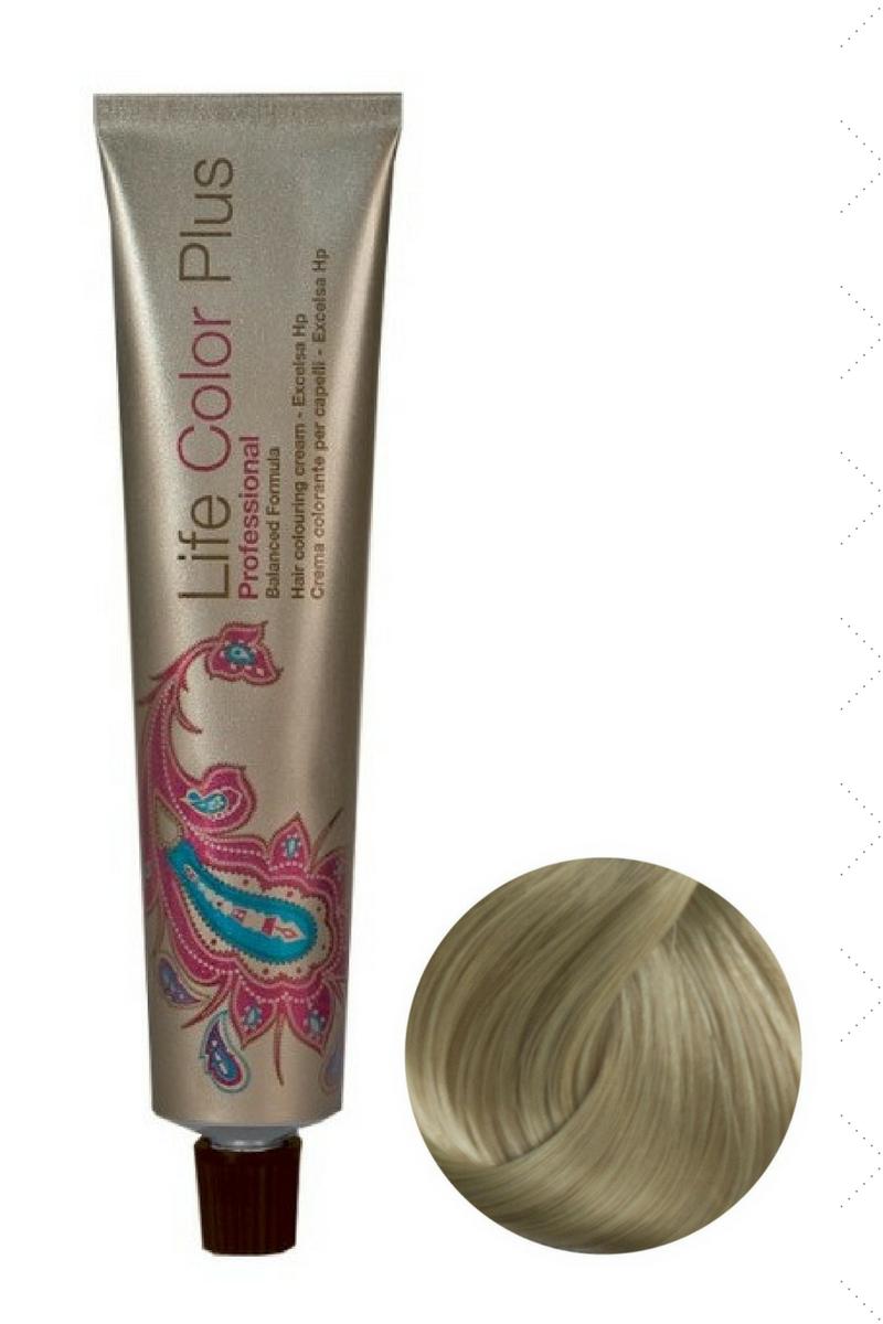 Крем-краска 9.0 Очень светлый блондин Life Color Plus FarmaVita, 100 мл