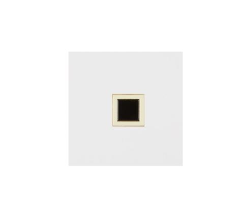 Значок металлический Авангард: Черный квадрат