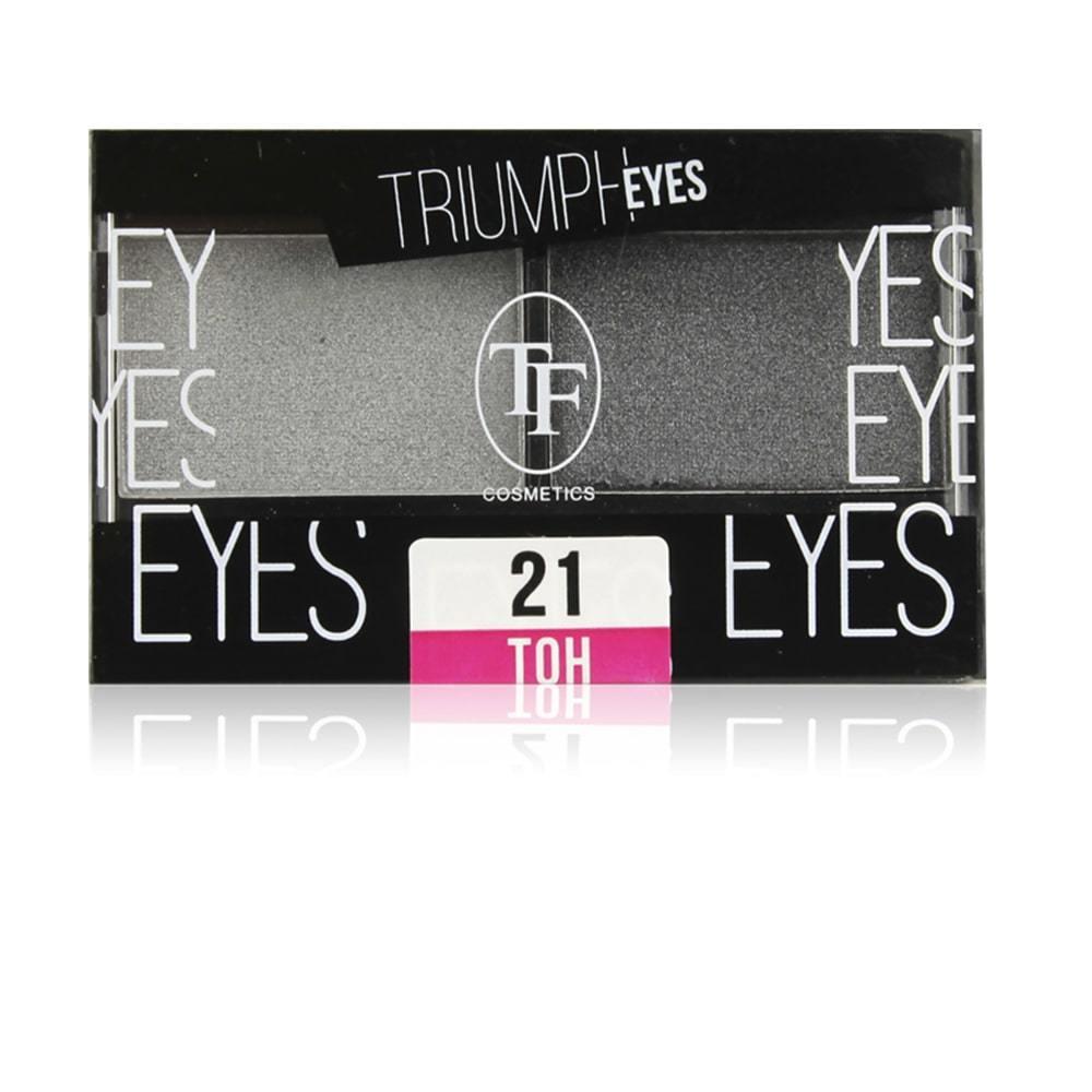 Тени для век двухцветные Triumph Eyes
