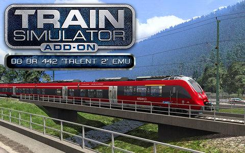 Train Simulator: DB BR 442 'Talent 2' EMU Add-On (для ПК, цифровой ключ)