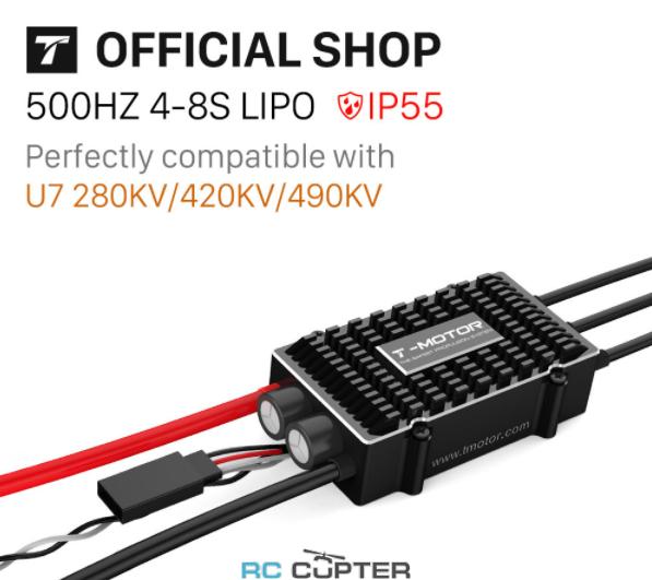 ESC регулятор мотора T-Motor 100A Flame LVКопировать товар