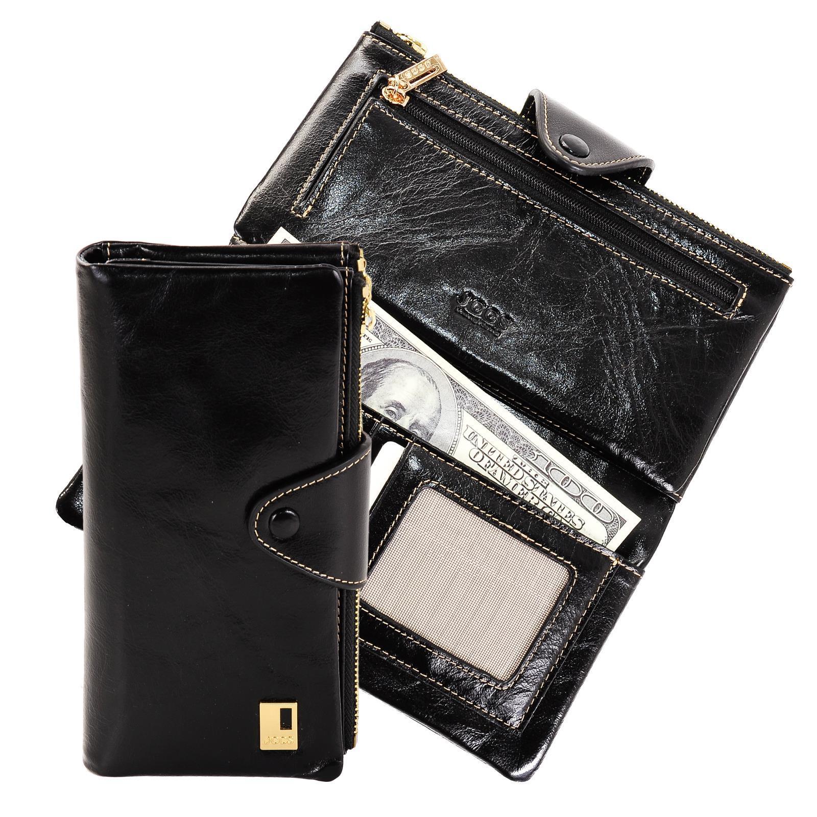 Женский кошелек JCCS из натуральной кожи j-3060