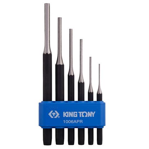KING TONY (1006APR) Набор выколоток, 6 предметов