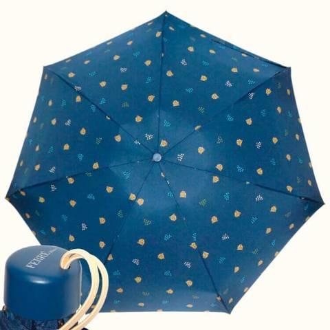 Супермини темно синий зонт зонтик