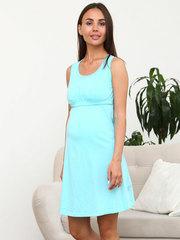 Мамаландия. Комплект для беременных и кормящих, кошки на темно-синем/бирюза