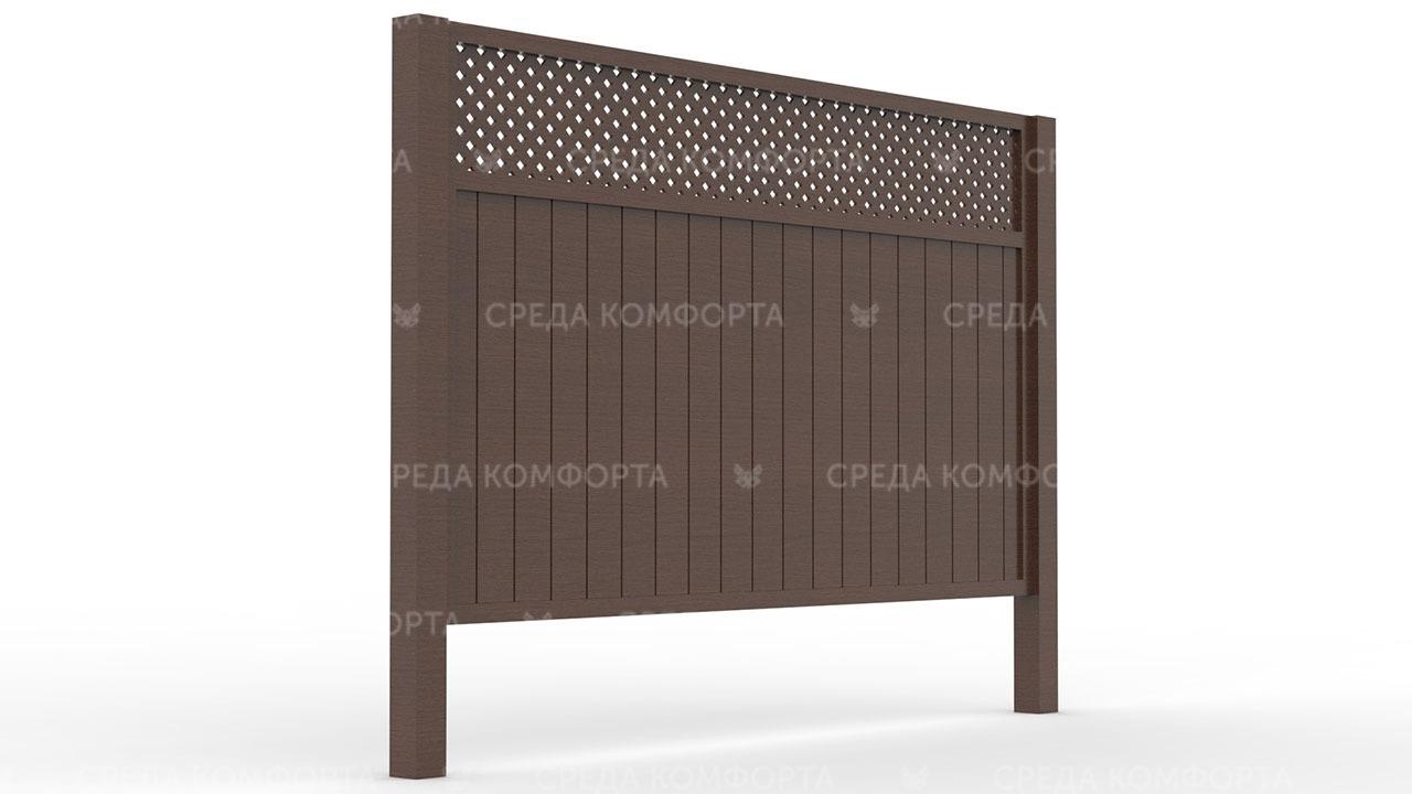 Деревянный забор ZBR0088