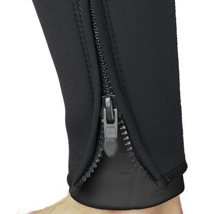 Гидрокостюм Waterproof полусухой/сухая молния SD4 7 мм мужской