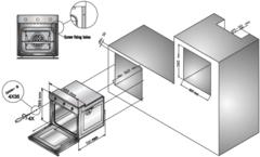 Встраиваемый духовой шкаф Simfer B4ES18011 - схема