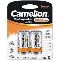 Аккумуляторы Camelion, C (R14) 2500mAh