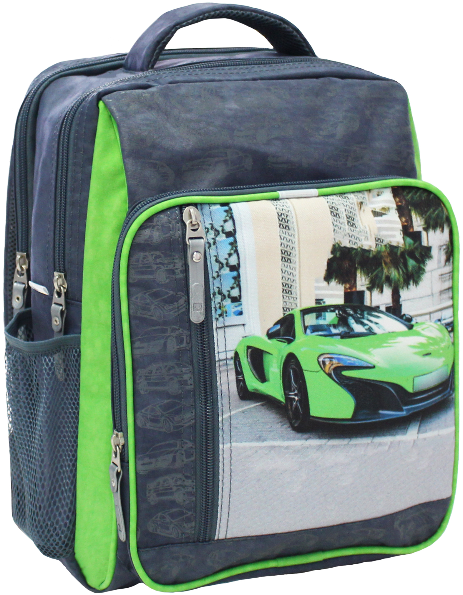 Школьные рюкзаки Рюкзак школьный Bagland Школьник 8 л. 321 сiрий 20 м (00112702) IMG_5295.JPG