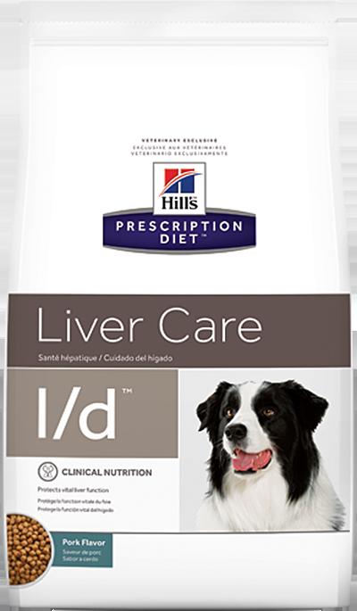 Сухой корм Ветеринарный корм для собак Hill`s Prescription Diet l/d Liver Care, при заболеваниях печени лд.png