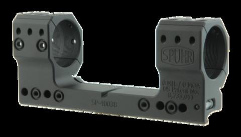 Тактический кронштейн SPUHR D34мм на Picatinny, H38мм, без наклона (SP-4003B) для прицелов BEAST
