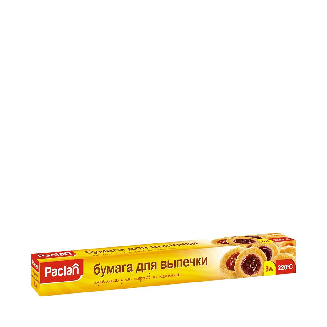 Paclan Бумага для выпечки  38 см * 8 м в коробке