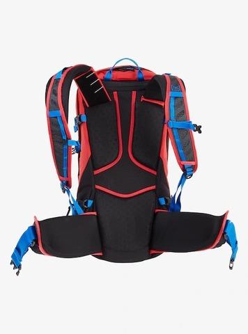 Картинка рюкзак сноубордический Burton ak incline 20l pack Flame Scarlet Rpstp - 4