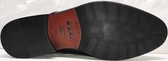 Модние туфли под костюм мужские Ikoc 2205-1 BLC.