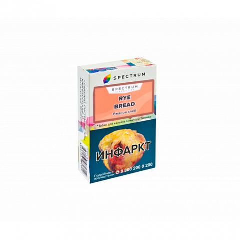 Табак Spectrum - Classic Line Rye bread (Ржаной хлеб) 40г