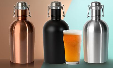 Гроулер для пива Asobu Beer (1,9 литра), медный