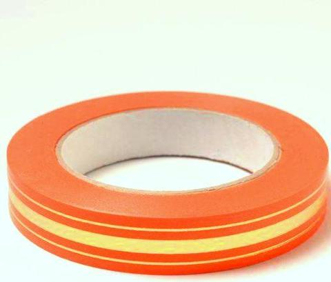 Лента золотая полоса BL (размер: 2 см х 50 ярдов) Цвет: оранжевый