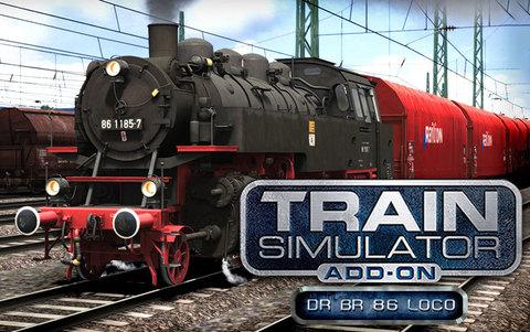Train Simulator: DR BR 86 Loco Add-On (для ПК, цифровой ключ)