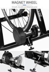 Портативный велотренажер-велостанок с 6 уровнями нагрузки, красный