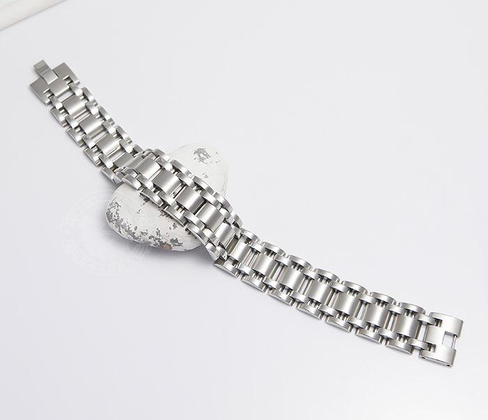 BM479 Широкий браслет из ювелирной стали (21 см) фото 02