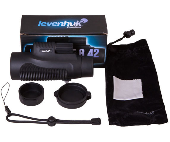 Комплект поставки монокуляра Levenhuk Wise
