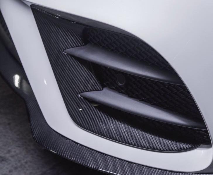Карбоновые вставки  переднего бампера   для Mercedes E43/53 AMG W213