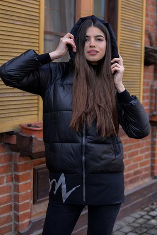 Куртка с холлофайбером с капюшоном Nadya