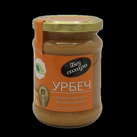 Урбеч натуральная паста из семян арахиса БИОПРОДУКТ, 280 гр