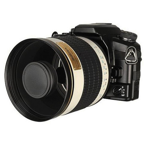 Объектив Samyang 800mm f/8 MC IF Mirror Lens T2 Mount White для Canon