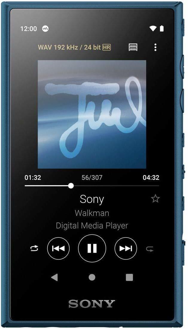 NW-A105L Hi-Res плеер Sony, 16Gb, цвет синий