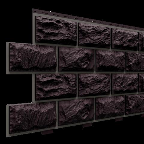 Фасадные панели (Цокольный Сайдинг) Доломит Альпийский Премиум Венге