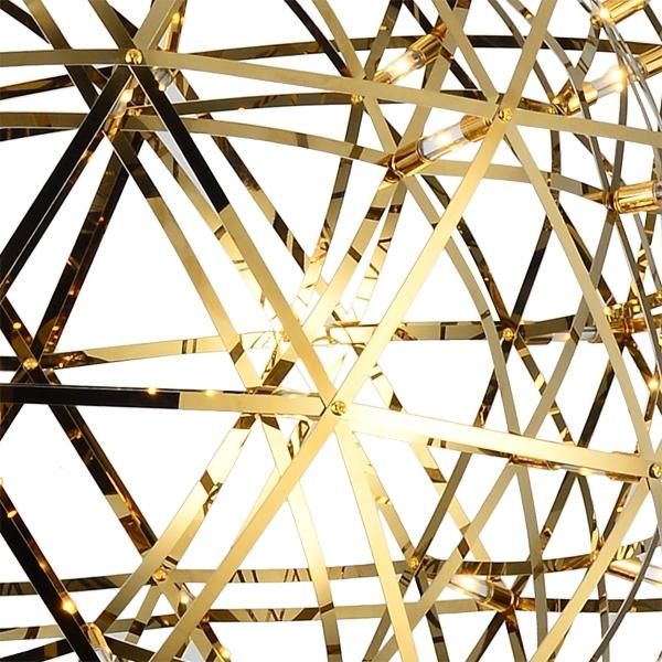 Подвесной светильник копия Raimond by Moooi (золотой, D 89 cm)