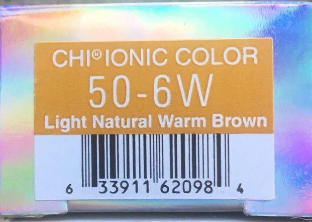 Крем-краска CHI Ионик 50-6 W 85 гр