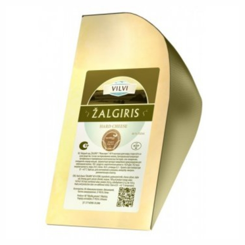 Сыр VILVI Memel Reserve Zalgiris 40% 180 г ЛИТВА