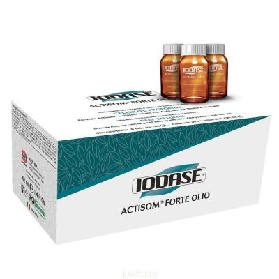 Natural Project Iodase Actisom: Маслянистая сыворотка для тела с формулой Актисом (Iodase Actisom Forte), 6*10мл