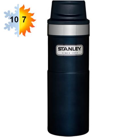 Термокружка STANLEY Classic 0.47L One hand 2.0  Синяя