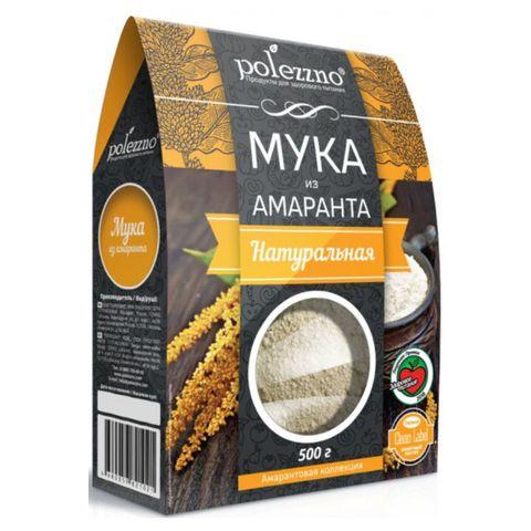 Мука амарантовая б/глютена 500 г РОССИЯ