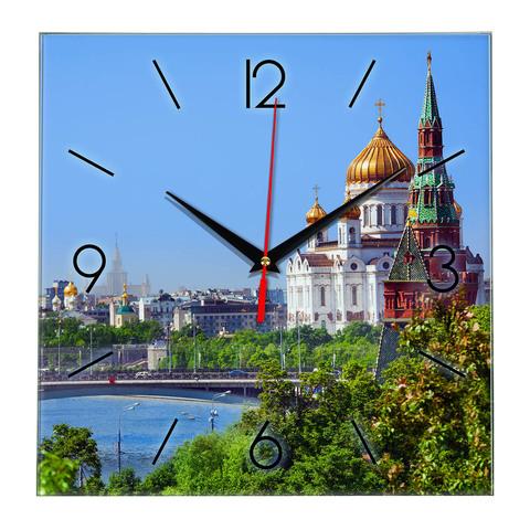 Часы сувенир Москва 18 06